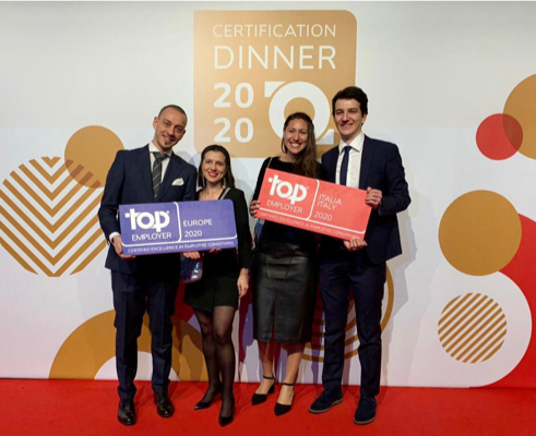 Top Employers certification dinner 2020